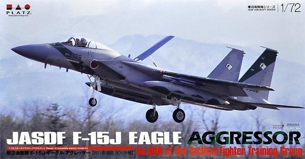 航空自衛隊 F-15J イーグル アグレッサー 飛行教導群 908号機プラモデル(プラッツ航空自衛隊機シリーズNo.AC-038)商品画像