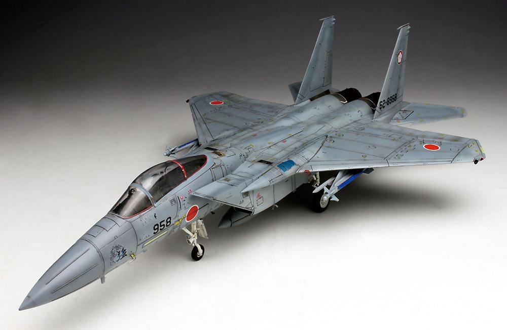 航空自衛隊 主力戦闘機 F-15J イーグル 迷彩型紙シート付きプラモデル(プラッツ航空自衛隊機シリーズNo.AC-016SP)商品画像_1
