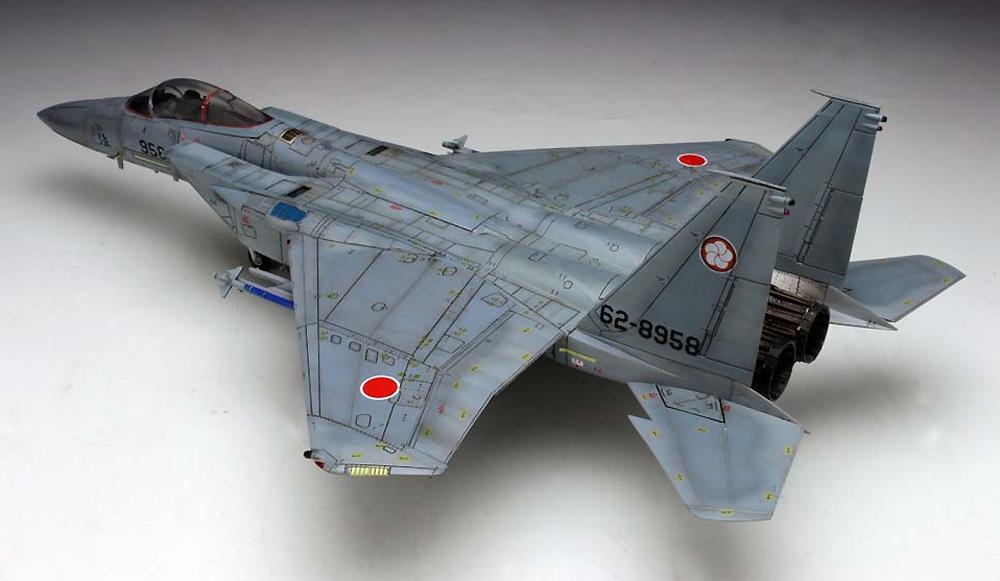 航空自衛隊 主力戦闘機 F-15J イーグル 迷彩型紙シート付きプラモデル(プラッツ航空自衛隊機シリーズNo.AC-016SP)商品画像_4