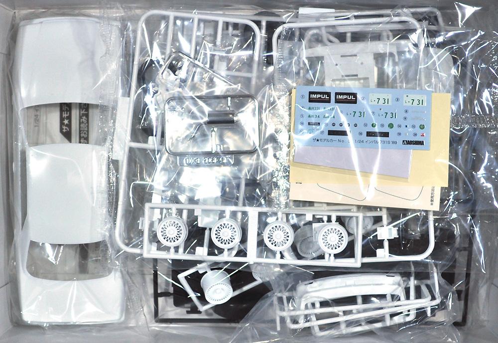 インパル Y31 シーマ 731S '89プラモデル(アオシマ1/24 ザ・モデルカーNo.031)商品画像_1