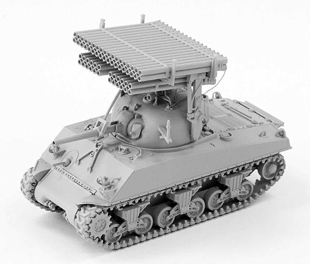 M4A3 シャーマン カリオペプラモデル(LEXA MODELS1/72 HYBRID KIT (LEXA MODELS×DRAGON)No.001)商品画像_3