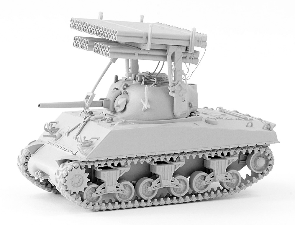 M4A3 シャーマン カリオペプラモデル(LEXA MODELS1/72 HYBRID KIT (LEXA MODELS×DRAGON)No.001)商品画像_4