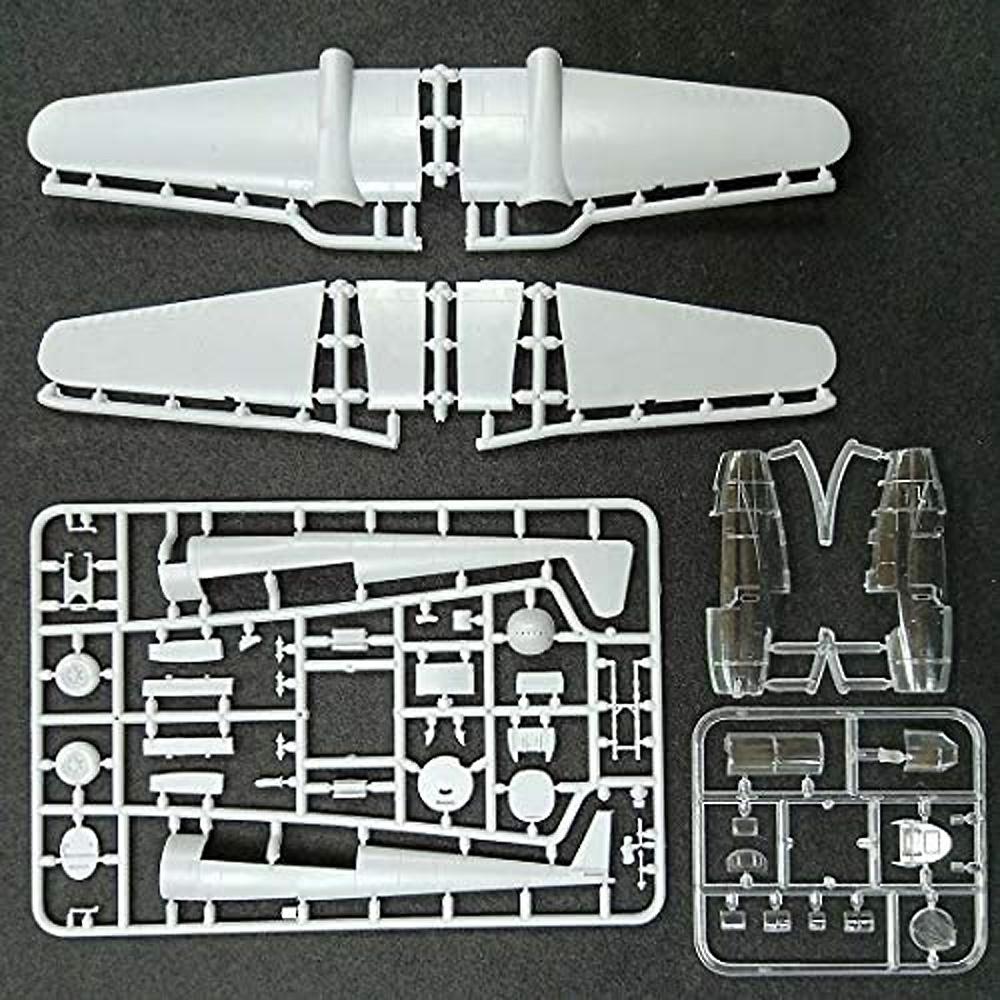 フォッカー G-1A 双発戦闘機プラモデル(ミクロミル1/72 エアクラフト プラモデルNo.72-017)商品画像_2
