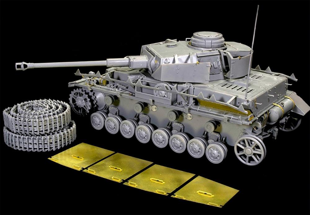 Pz.Kpfw.4 4号戦車H型 クルップ製 中期型 1943年8-9月 インテリアキットプラモデル(ミニアート1/35 WW2 ミリタリーミニチュアNo.35330)商品画像_2