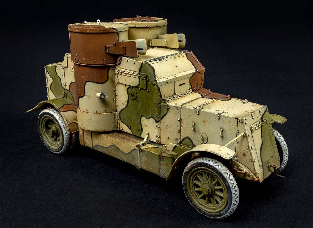 オースチン装甲車 日本帝国陸軍仕様 1918年製 インテリアキットプラモデル(ミニアートWW1 ミリタリーミニチュアNo.39019)商品画像_2