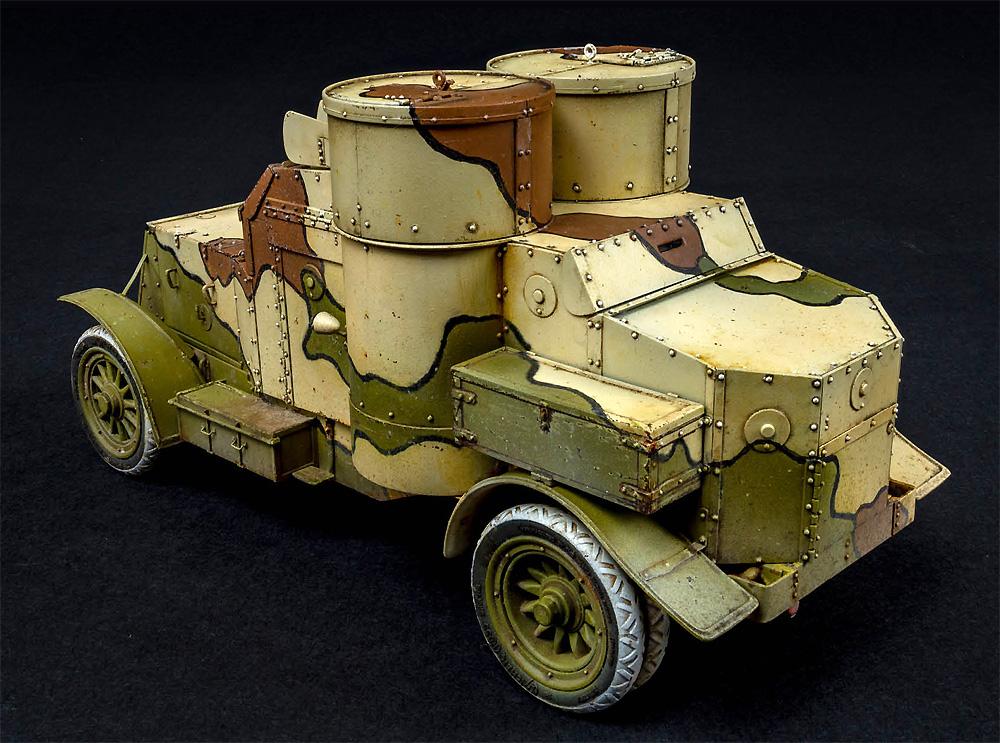 オースチン装甲車 日本帝国陸軍仕様 1918年製 インテリアキットプラモデル(ミニアートWW1 ミリタリーミニチュアNo.39019)商品画像_3