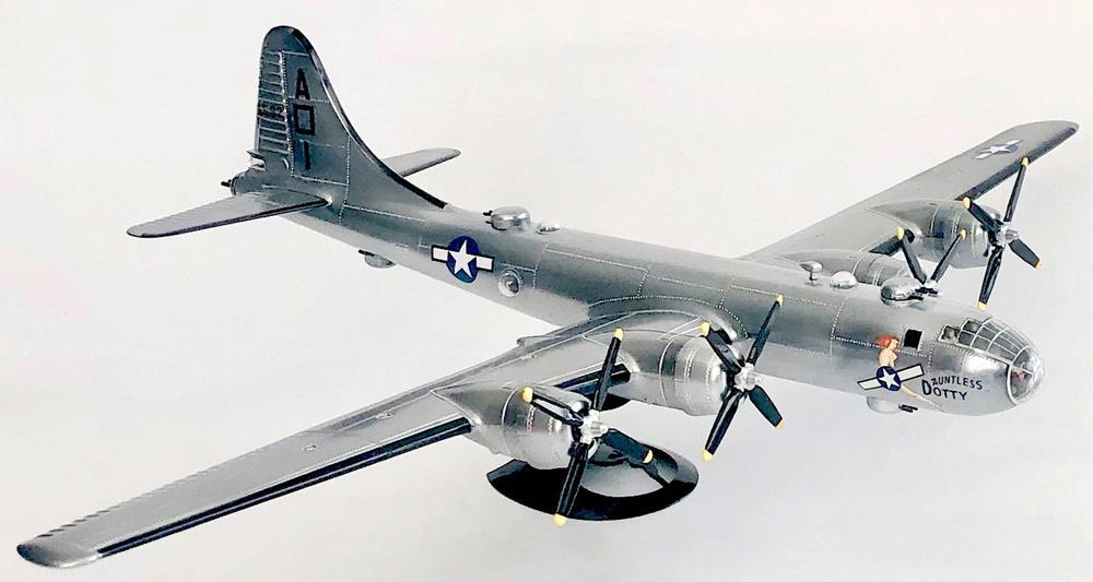 ボーイング B-29 スーパーフォートレス w/スイベルスタンドプラモデル(アトランティスプラスチックモデルキットNo.H208)商品画像_1