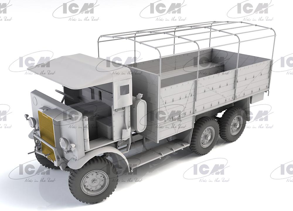 レイランド レトリバー GS 初期型 (WW2 イギリス トラック)プラモデル(ICM1/35 ミリタリービークル・フィギュアNo.35602)商品画像_1