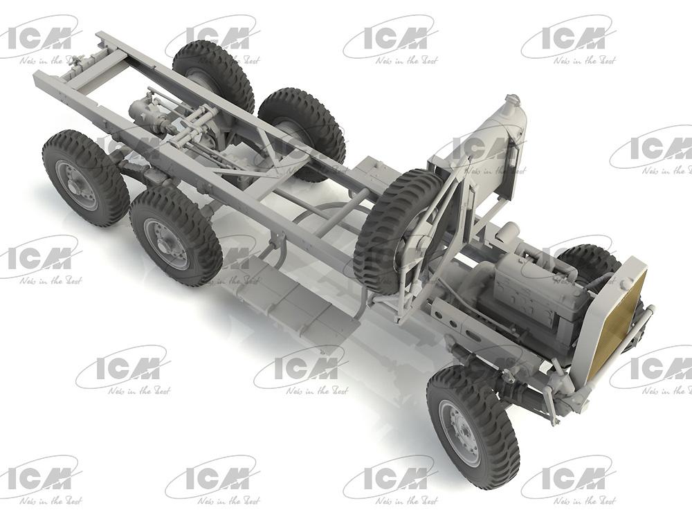 レイランド レトリバー GS 初期型 (WW2 イギリス トラック)プラモデル(ICM1/35 ミリタリービークル・フィギュアNo.35602)商品画像_3
