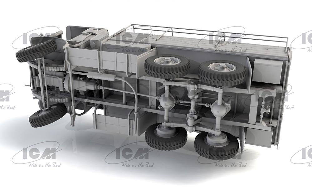 レイランド レトリバー GS 初期型 (WW2 イギリス トラック)プラモデル(ICM1/35 ミリタリービークル・フィギュアNo.35602)商品画像_4