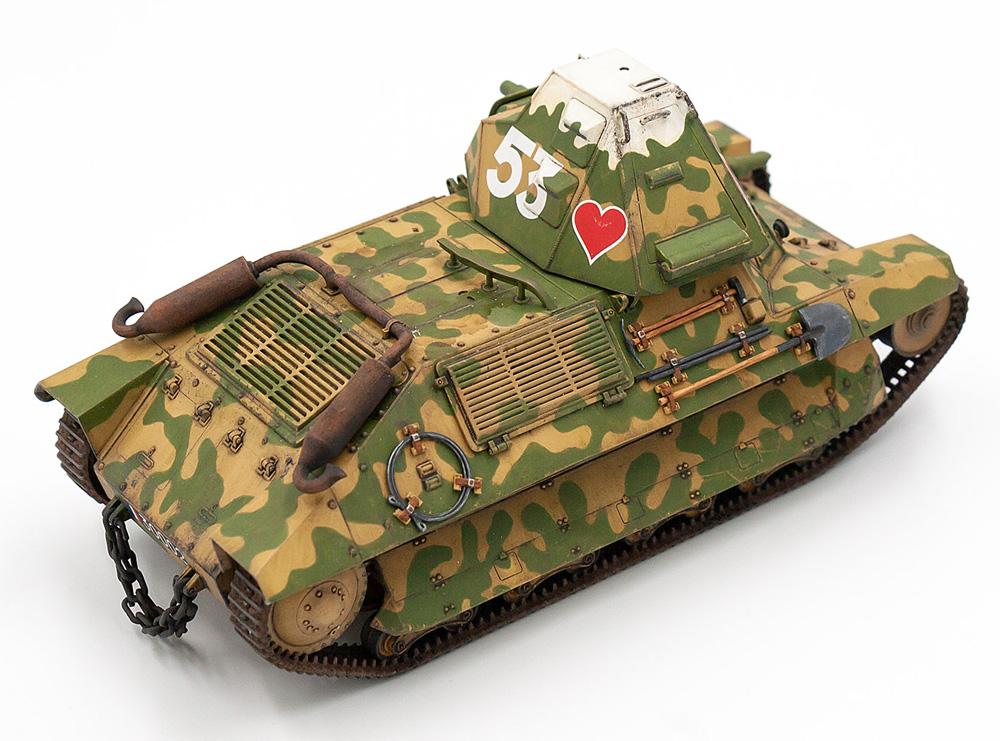 フランス FCM36 軽戦車 w/フランス戦車兵プラモデル(ICM1/35 ミリタリービークル・フィギュアNo.35338)商品画像_4
