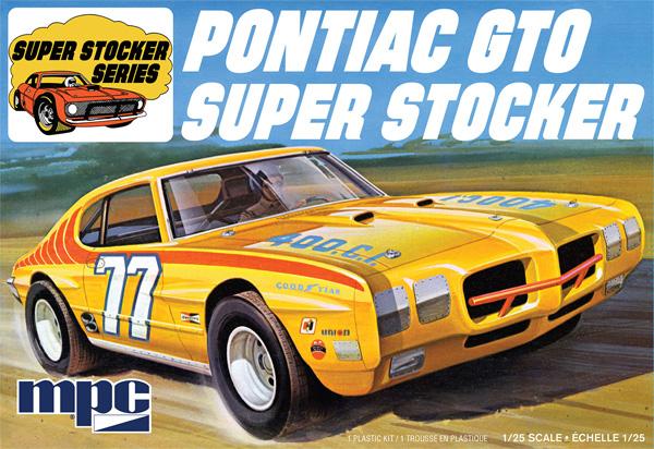ポンティアック GTO スーパーストックカー 1970プラモデル(MPC1/25 カーモデルNo.MPC939M/12)商品画像