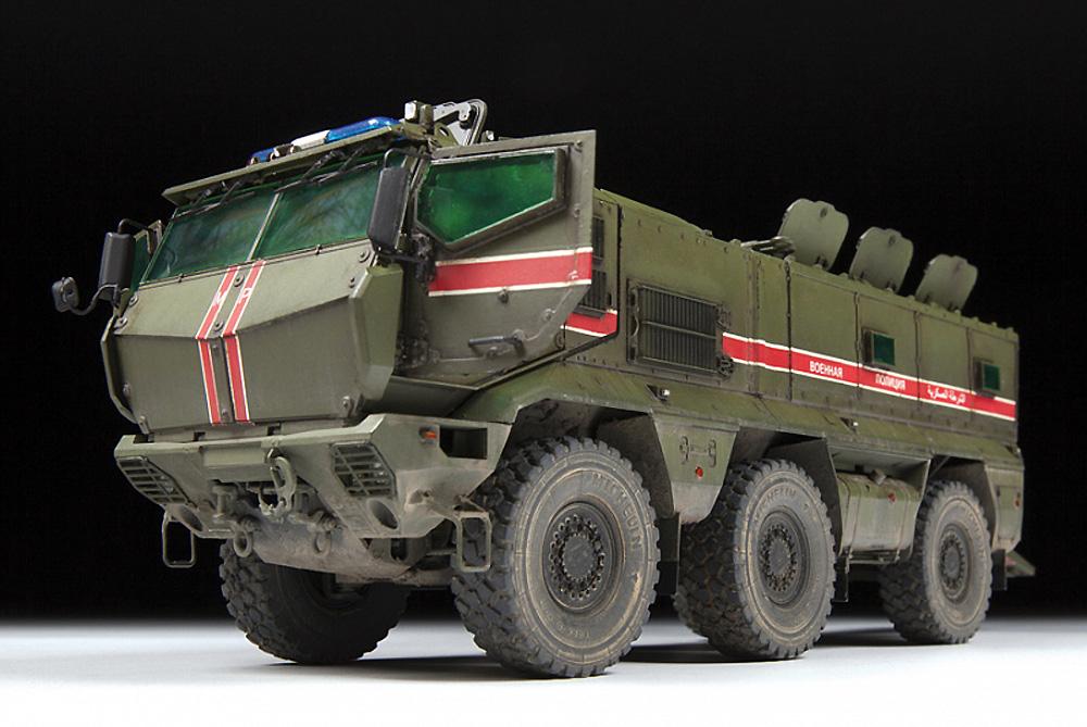 ロシア 装輪装甲車 タイフーン‐Kプラモデル(ズベズダ1/35 ミリタリーNo.3701)商品画像_2
