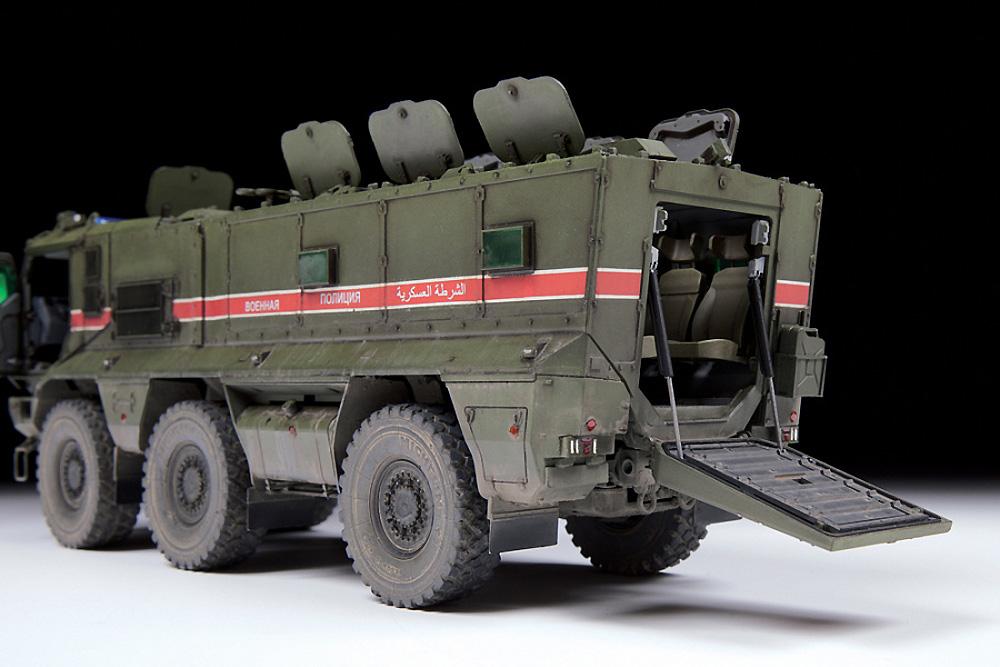 ロシア 装輪装甲車 タイフーン‐Kプラモデル(ズベズダ1/35 ミリタリーNo.3701)商品画像_3
