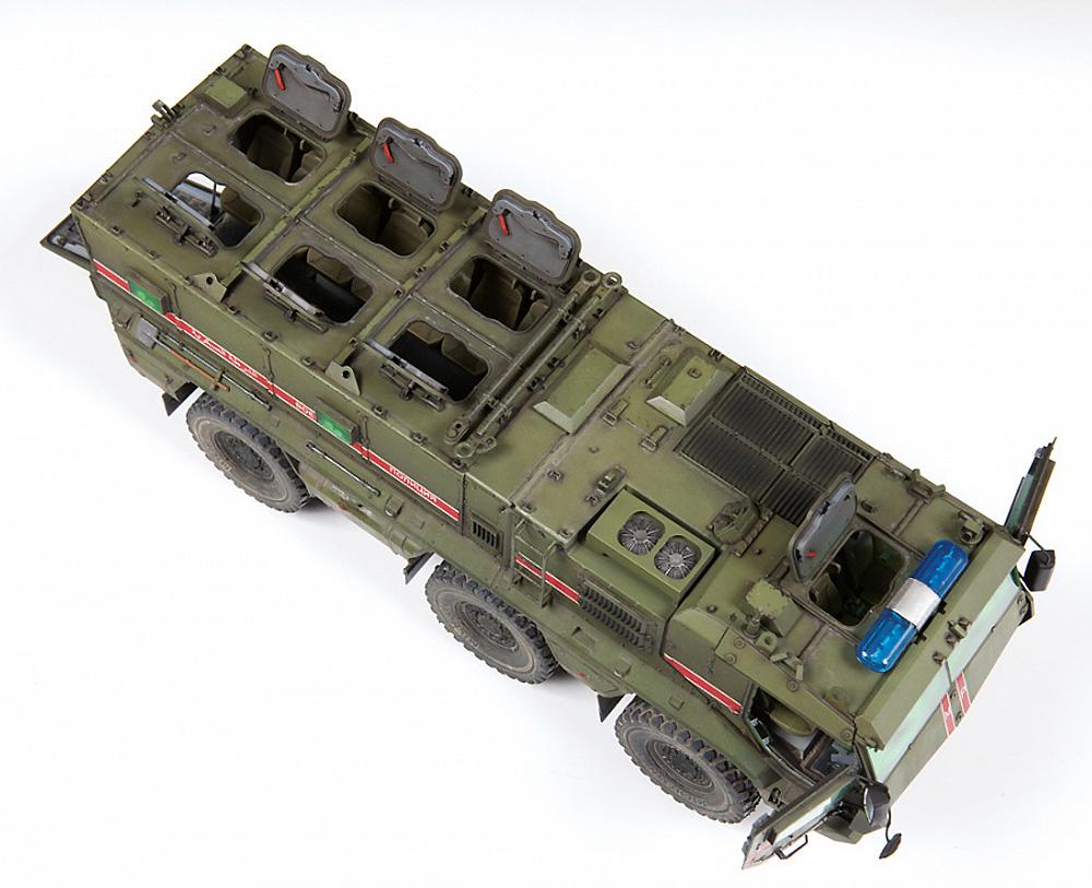 ロシア 装輪装甲車 タイフーン‐Kプラモデル(ズベズダ1/35 ミリタリーNo.3701)商品画像_4