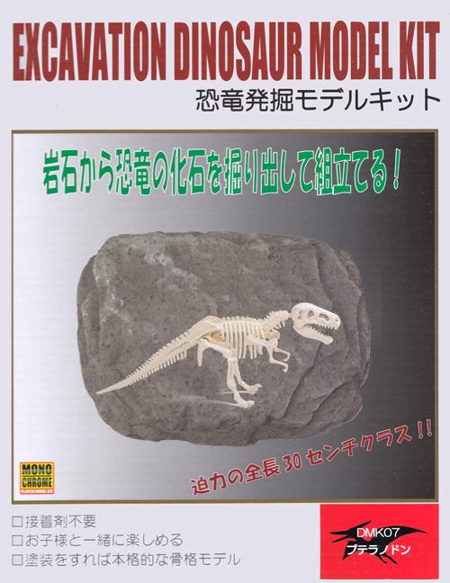 プテラノドンプラモデル(モノクローム恐竜発掘モデルキットNo.DMK007)商品画像
