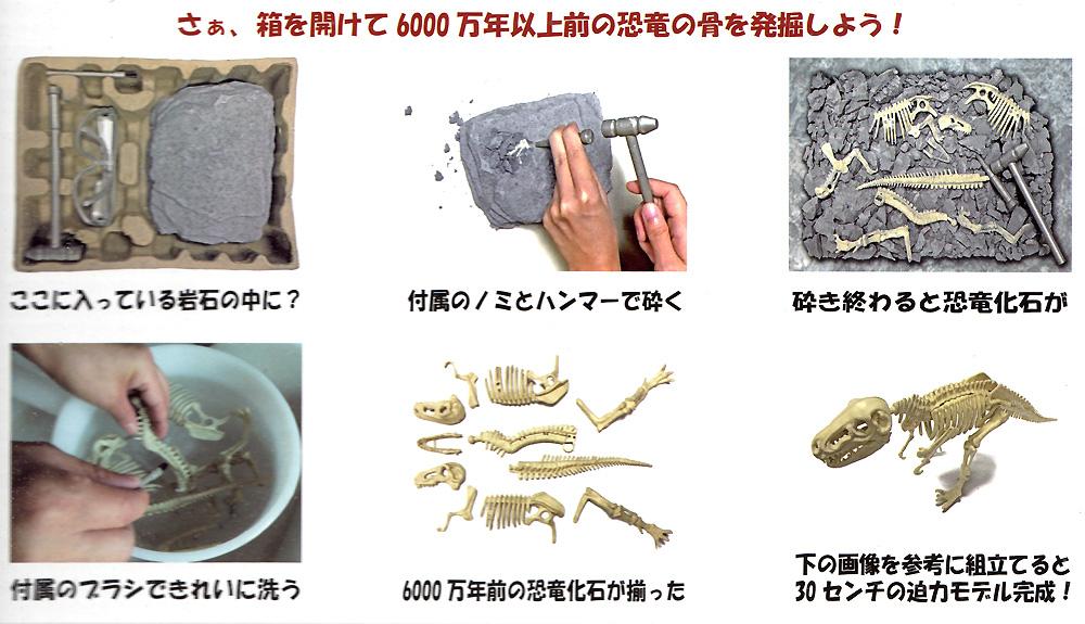 マンモスプラモデル(モノクローム恐竜発掘モデルキットNo.DMK011)商品画像_1