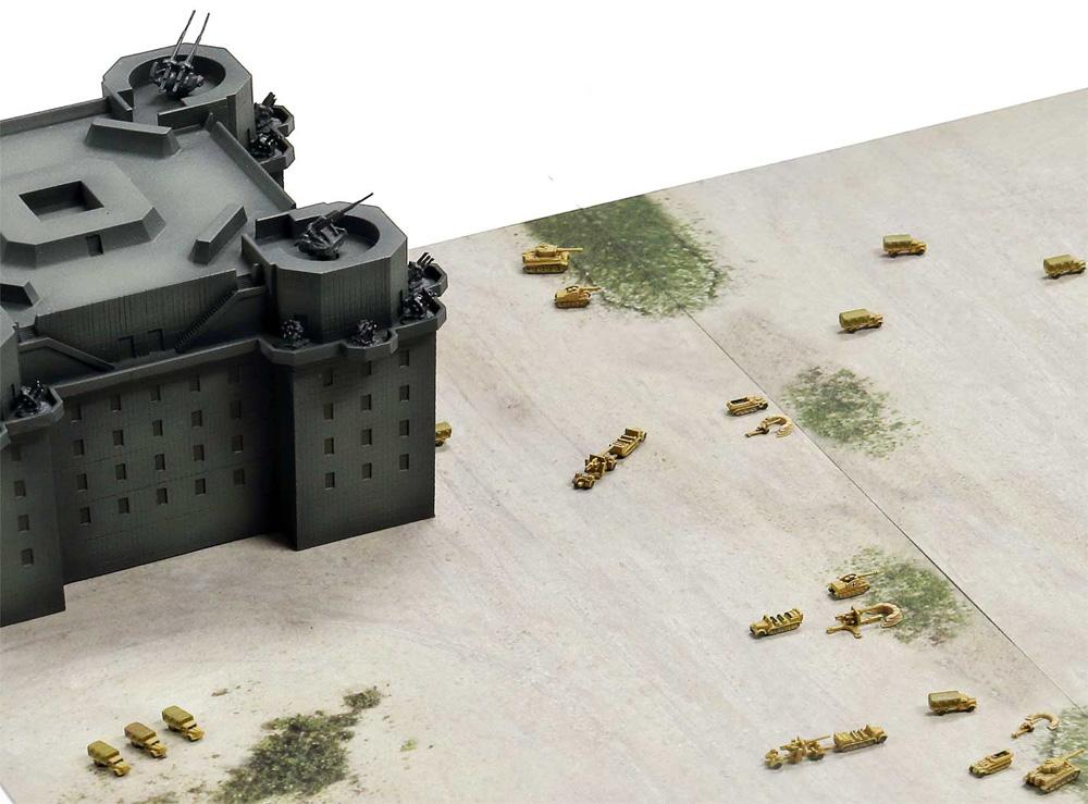 ドイツ軍 ベルリン防空要塞 (フラックタワー)レジン(ピットロードスカイウェーブ S シリーズNo.SPS013)商品画像_3