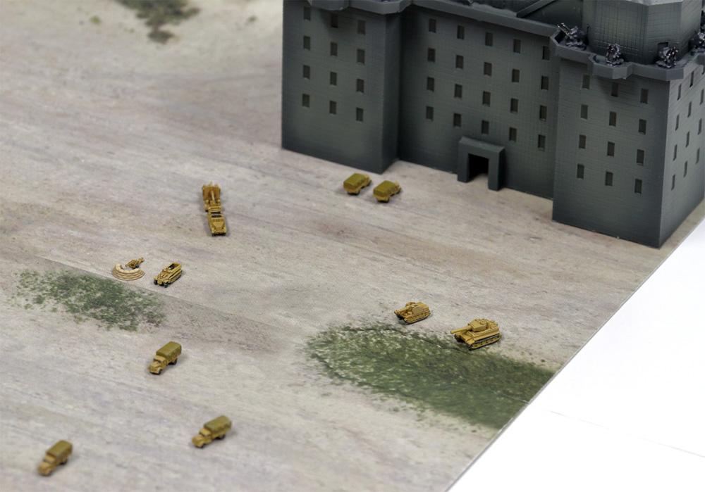 ドイツ軍 ベルリン防空要塞 (フラックタワー)レジン(ピットロードスカイウェーブ S シリーズNo.SPS013)商品画像_4