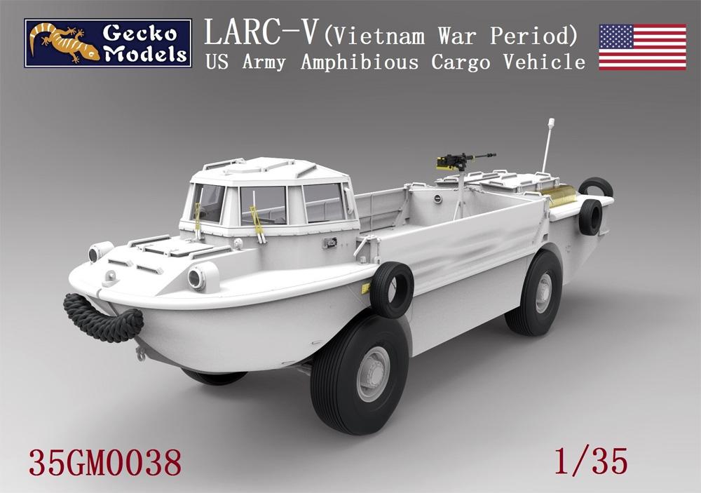 LARC-V アメリカ陸軍 水陸両用貨物輸送車 (ベトナム戦争)(プラモデル)(ゲッコーモデル1/35 ミリタリーNo.35GM0038)商品画像_2