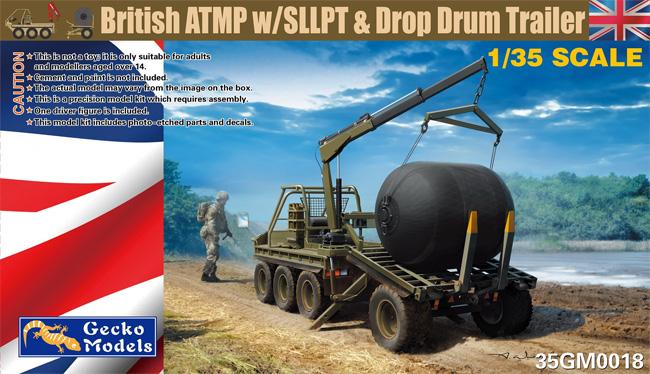 イギリス ATMP w/SLLPT & 航空可搬燃料タンク(プラモデル)(ゲッコーモデル1/35 ミリタリーNo.35GM0018)商品画像
