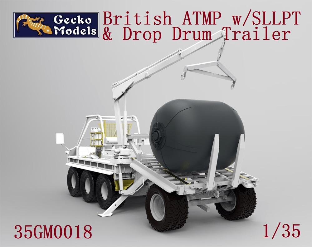 イギリス ATMP w/SLLPT & 航空可搬燃料タンク(プラモデル)(ゲッコーモデル1/35 ミリタリーNo.35GM0018)商品画像_2