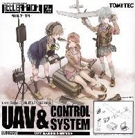UAV 無人偵察機 & 機材セット