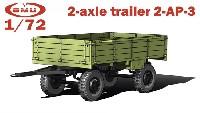 2-AP-3 ソ連 2軸トレーラー