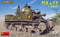 ミニアート1/35 WW2 ミリタリーミニチュアM3 リー 中期型 インテリアキット