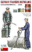 ミニアート1/35 WW2 ミリタリーミニチュアドイツ兵 燃料補給中