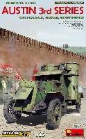 ミニアートWW1 ミリタリーミニチュアオースチン装甲車 3型 (チェコスロバキア・ロシア・ソビエト) インテリアキット