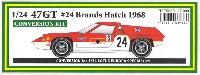HSCコンバージョンキットロータス 47GT #24 ブランズハッチ 1968