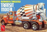 amt1/25 カーモデルケンワース/チャレンジ コンクリートミキサー車