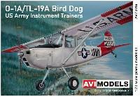 O-1A/TL-19A バードドッグ 米陸軍 計器練習機
