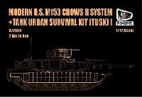 エイブラムス戦車用 TUSK 1 w/M153 CROWS 2 パーツセット (2セット入り)