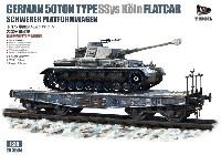 ドイツ 軍用 シムス 50トン 大型平台貨車