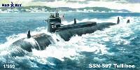 ミクロミル1/350 艦船モデルSSN-597 タリビー 攻撃型 原子力潜水艦