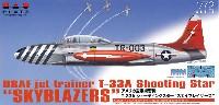 アメリカ空軍 練習機 T-33A シューティングスター スカイブレイザーズ