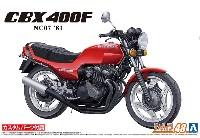 ホンダ NC07 CBX400F モンツァレッド '81 カスタムパーツ付き
