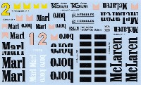 タブデザイン1/20 デカールマクラーレン MP4/2C オプション デカール