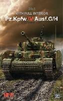 Sd.Kfz.161/1 4号戦車G/H型 フルインテリア 2in1 w/連結組立可動式履帯