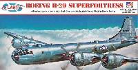 アトランティスプラスチックモデルキットボーイング B-29 スーパーフォートレス w/スイベルスタンド