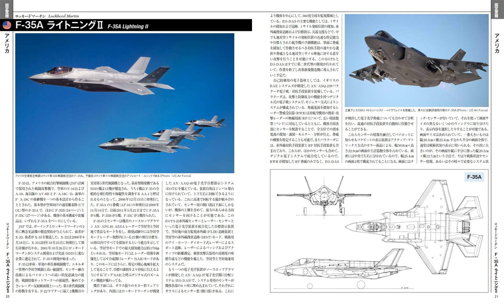 戦闘機年鑑 2021-2022本(イカロス出版イカロスムックNo.61857-85)商品画像_2