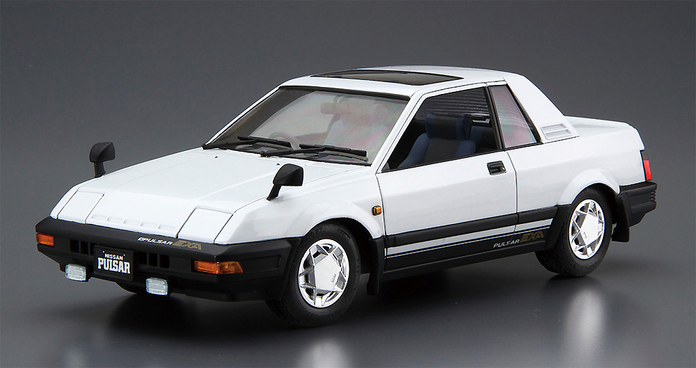 ニッサン N12 パルサー EXA '83プラモデル(アオシマ1/24 ザ・モデルカーNo.083)商品画像_2