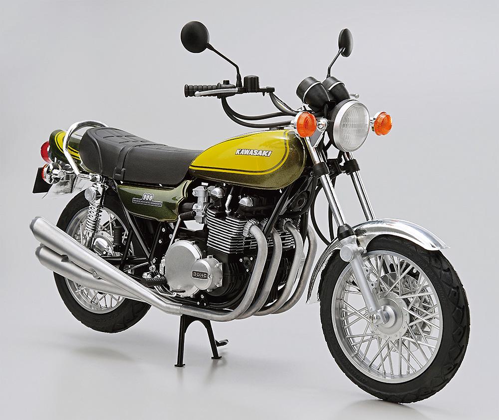 カワサキ Z1 900 SUPER4 '73 カスタムパーツ付きプラモデル(アオシマザ バイクNo.047)商品画像_2