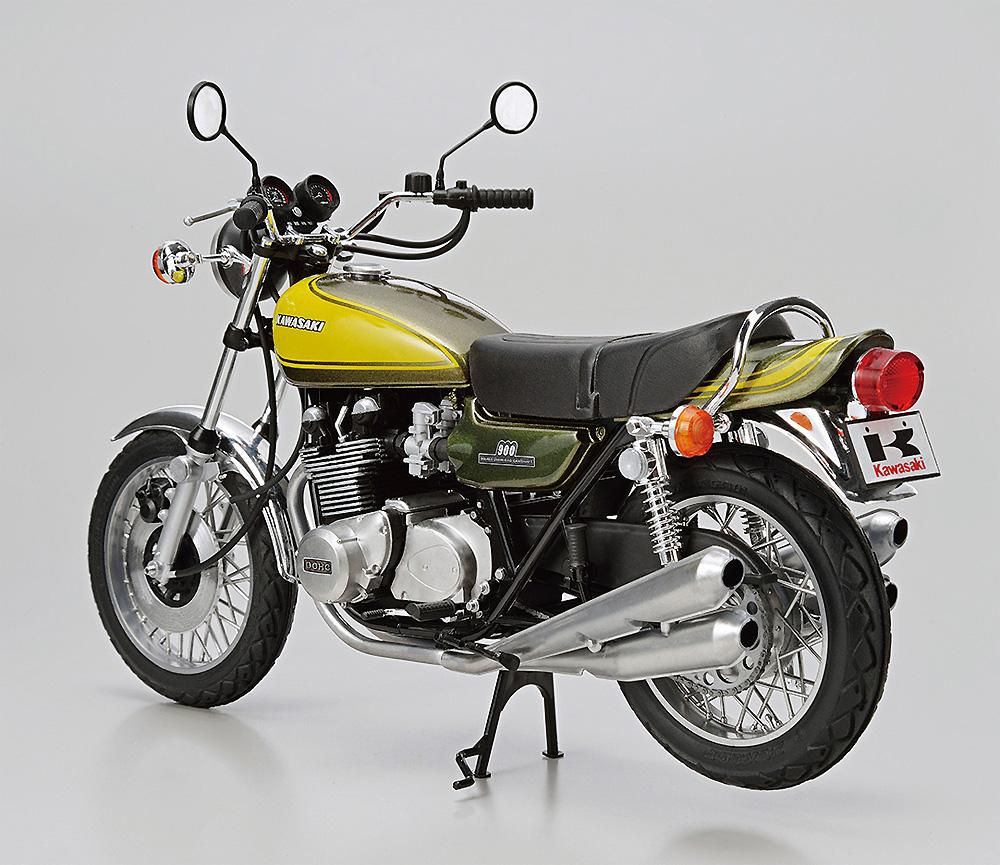 カワサキ Z1 900 SUPER4 '73 カスタムパーツ付きプラモデル(アオシマザ バイクNo.047)商品画像_3
