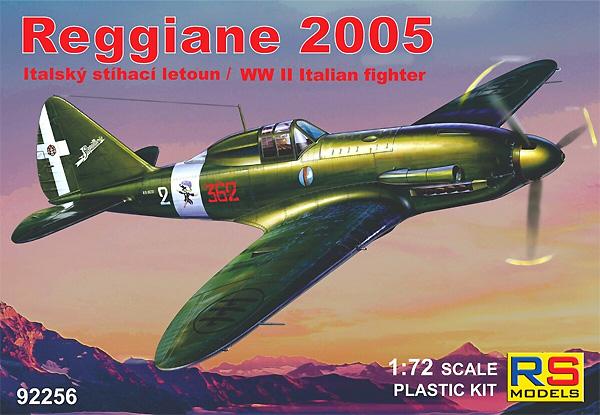 レジアーネ 2005 カプア イタリア 戦闘機プラモデル(RSモデル1/72 エアクラフト プラモデルNo.92256)商品画像