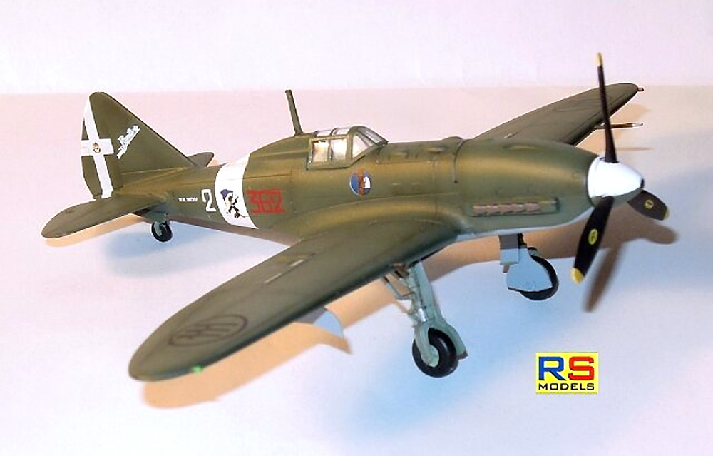 レジアーネ 2005 カプア イタリア 戦闘機プラモデル(RSモデル1/72 エアクラフト プラモデルNo.92256)商品画像_4