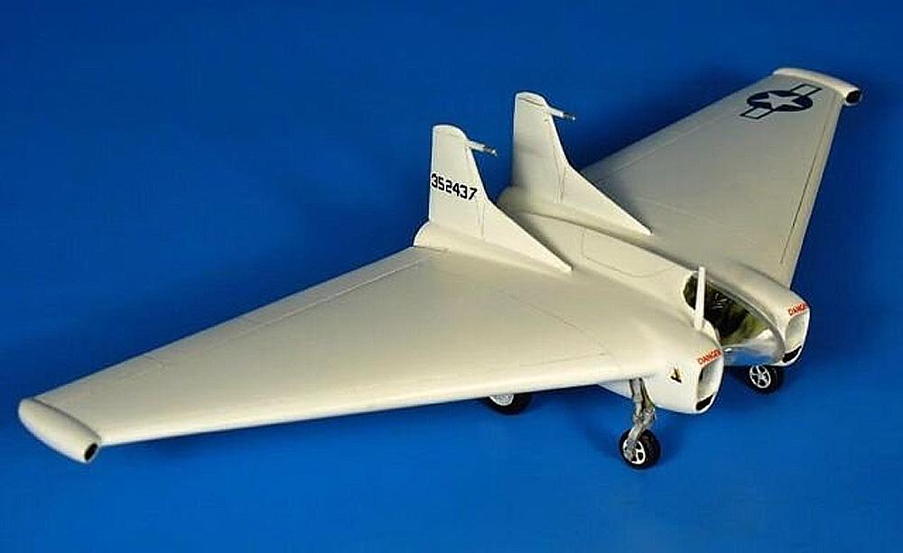 XP-79B フライングラム ミューロック ドライレイク 1945プラモデル(RSモデル1/72 エアクラフト プラモデルNo.92257)商品画像_2