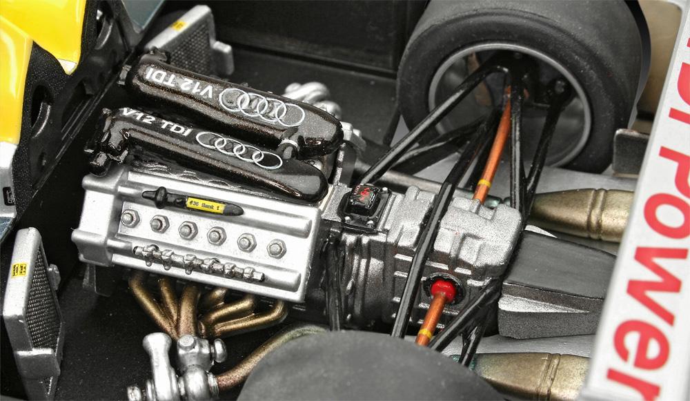 アウディ R10 TDI ル・マン & 3Dパズル ジオラマ (ギフトセット)プラモデル(レベルカーモデルNo.05682)商品画像_3